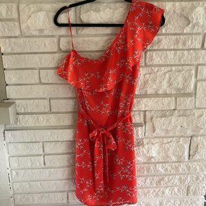 NWT one-shoulder short dress